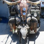 Blacksmithing Trike Mobile Art chyma metal artist Cape Town