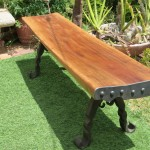 Blacksmithing Outdoor Bench Chyma Metal Artist Cape Town
